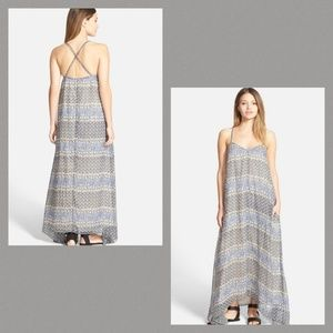 Madewell Swingy Print Maxi Sundress